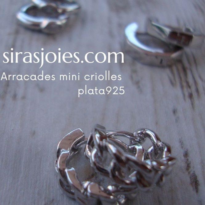 criolles 12mm en plata