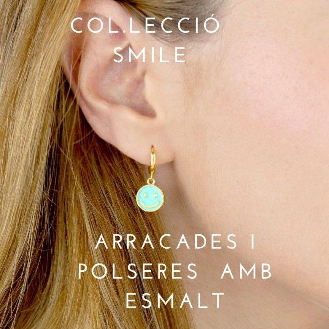 Col.lecció smile plata amb esmal