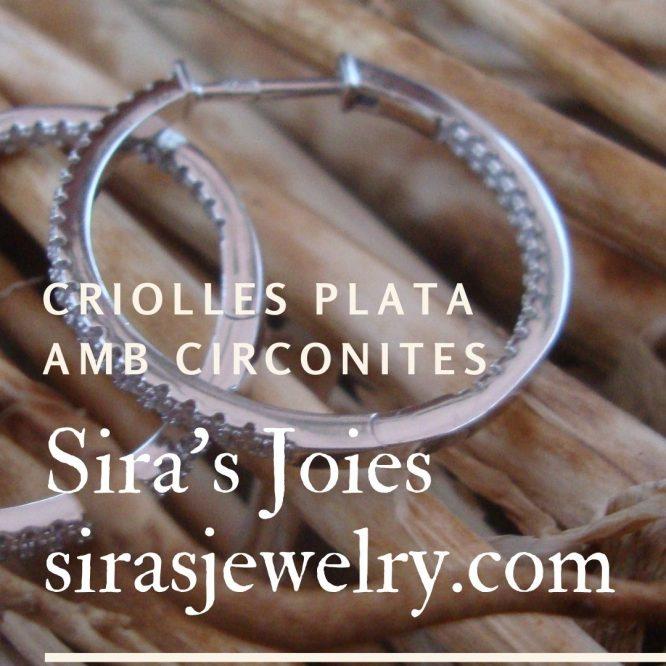Criolles plata amb circonites